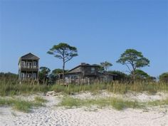 Alligator Point Vacation Rental - VRBO 122450 - 6 BR Florida Main North West House in FL, Withers Beach - Old Florida Charm - 6BR & 2 Cottages Available