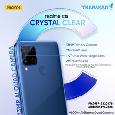 www.tharakansdutypaid.com #REALMEC15 Now @ Tharakan duty paid shop Buy your favourite #realmec15 crystal clear at a lesser price now @ #Tharakan #dutypaidshop. Don't miss it !!!!!! Contact us : Tharakans Duty Paid Shop First Floor,City Center Thrissur,Kerala,680001 Ph:0487-2320178 Mob:9846962828 #realmemobiles #realmethrissur #realmemobilesthrissur #realmec15crystalclear #realmephones Ultra Wide Angle Lens, Kerala, Quad, Floor, Crystals, Retro, Phone, City, Shopping