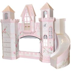 Hathaway Castle Bed from PoshTots #PTRoyalBaby