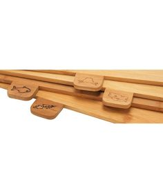 Buy Heart of House Bamboo Chopping Board - Pack of 4 at Argos.co.uk - Your Online Shop for Chopping boards.
