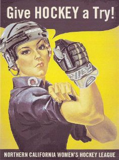 Hockey <3 this is my new favorite take on Rosie