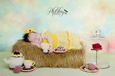 crochet photo prop Disney's Belle from Beauty by momscrochetcorner, $30.00
