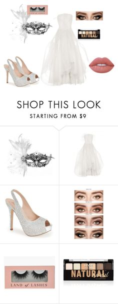 """""""Masquerade Party"""" by rileydutro ❤ liked on Polyvore featuring Masquerade, Lauren Lorraine, NYX and Lime Crime"""