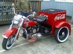 Harley Davidson News – Harley Davidson Bike Pics Hd Vintage, Vintage Bikes, Vintage Design, Harley Davidson Trike, Custom Trikes, Always Coca Cola, 3rd Wheel, Classic Bikes, Classic Motorcycle