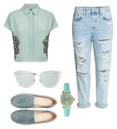 Untitled #25 by elisa-schembre on Polyvore featuring polyvore, fashion, style, Jaeger, Olivia Pratt, Christian Dior and clothing