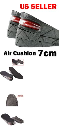 3ff095df46 Insoles 169284: 8Cm Air Cushion Heel Insert Increase Taller Height Lift Shoes  Insole Men -