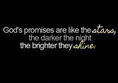 We can rest fully on God's promises