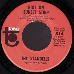 The Standells - Riot On Sunset Strip at Discogs
