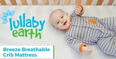 Enter the October Giveaway and win a Lullaby Earth Breeze Breathable Crib Mattress!! #SleepBreezy  #spons