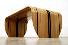 Surf-ace Table and Bench par Christopher Duffy - Journal du Design