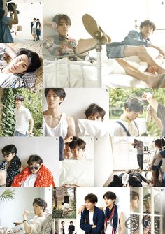 EXO Chanyeol and Sehun - Ceci Magazine August Issue '15 BTS