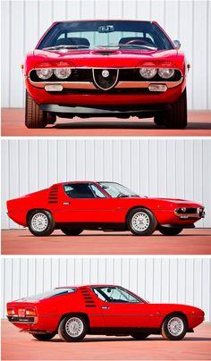 1971 Alfa Romeo Montreal :: archaictires: #alfaromeogiulietta