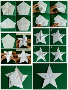 Christmas – Diy Paper & Origami Fauna and Flora are two terms frequently heard by those who spend time in … Origami Christmas Ornament, Origami Ornaments, Paper Ornaments, Christmas Diy, Christmas Stars, Origami Diy, Paper Crafts Origami, Diy Paper, Paper Crafting