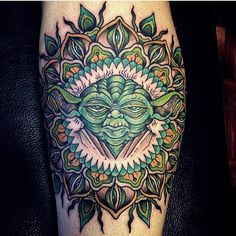 star wars yoda tattoo-15