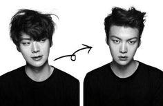 Ahn Jae Hyun's hair