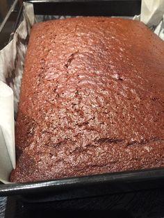 Gingerbread tray bake - Mary Berry recipe :)