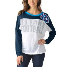 best sneakers c6f3d 7f315 Tennessee Titans Women s Ralph Long Sleeve T-Shirt - Navy