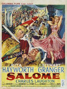 projetor antigo: Salomé 1953 Dubl avi  1953, Cedric Hardwicke, Charles Laughton, Drama/História, Dublado, Judith Anderson, Rita Hayworth, Stewart Granger, William Dieterle