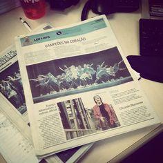 A coluna de hoje está supimpa graças à façanha do grupo de  dança Avulsos de Blumenau que foi premiado no Festival de Dança de Joinville na sexta-feira. Mas tem também programação da boa pra amanhã!