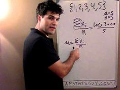 "AWESOME video: ""What is Standard Deviation"" - the average distance to the mean!  Truly excellent explanation."