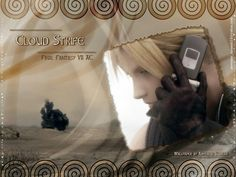 Cloud strife brown walle by areemus on DeviantArt Tifa Final Fantasy, Final Fantasy Cloud, Final Fantasy Characters, Cloud And Tifa, Cloud Strife, Star Comics, Movie Stars, Finals, Clouds