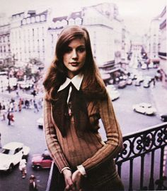"""November 1973. """"It's a moment caught in time. A mood. A spirit."""" Yves Saint Laurent, Rive Gauche."""