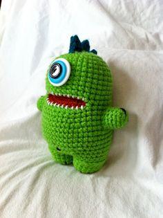 Monstrinho fofo ♥ #crochê #amigurumi