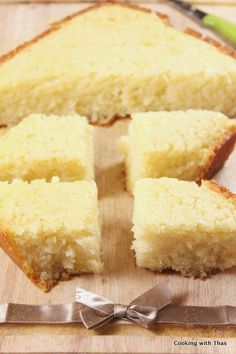 Basbousa or Semolina Cake – Egyptian/Mediterranean dessert