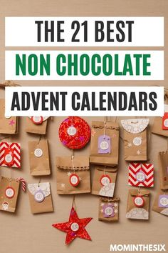 21 Best Non Chocolate Advent Calendars. Handmade Advent Calendars and Toys. Non-Candy alternatives for kids and adults. Make Christmas extra special with these handmade ideas and toy ideas Baby Advent Calendar, Advent Calendar For Toddlers, Lego City Advent Calendar, Advent Calendar Fillers, Advent For Kids, Christmas Countdown Calendar, Advent Calenders, Kids Calendar, Christmas Gifts For Kids