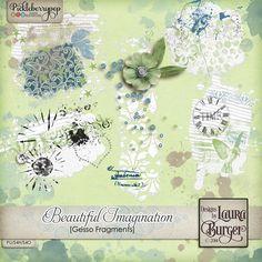 Beautiful Imagination Gesso Fragments