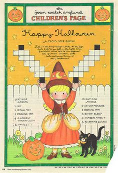 Joan Walsh Anglund Halloween   von contrarymary