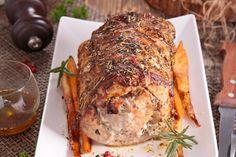 Longe de porc aux pommes dans la mijoteuse Lchf, Crockpot, Slow Cooker, Bbq, Pork, Turkey, Food And Drink, Cooking Recipes, Nutrition
