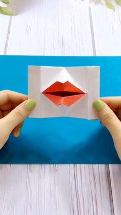 Cool Paper Crafts, Paper Crafts Origami, Diy Paper, Fun Crafts, Paper Art, Stick Crafts, Diy Crafts Hacks, Diy Crafts For Gifts, Diy Crafts Videos