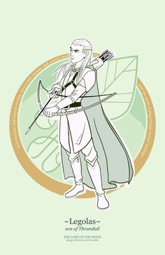 The Lord of the Rings — Character Design pt. 1 by Francisco Guerrero, via Behance