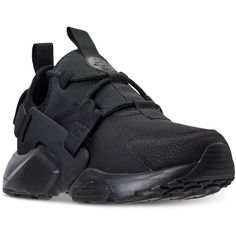 Nike Women's Air Huarache City Low Casual Sneakers from Finish Line ($120)  ❤ liked