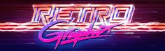 Retrographix Facebook Group Banner on Behance