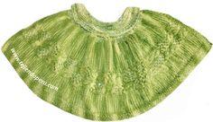 Tutorial:  Capita con cuello alto en dos tamaños: para niñas y adultas tejida en dos agujas o palitos!