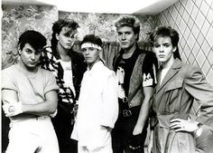 Duran Duran - Oh John Taylor those wispy bangs and pouty, beautiful lips have haunted me since I was 13 years old!!! KR