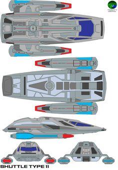 starfleet shuttlecraft type 11 by bagera3005.deviantart.com on @deviantART