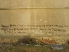 Seen on a wall in Baia Mare, Romania