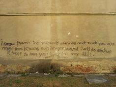 Seen on a wall in Baia Mare, Romania