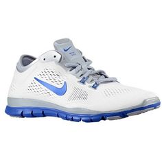 8019c2c3539 Nike Free 50 Tr Fit 4 Team White Game Royal Wolf Grey Womens Running Shoes      Read more at the image link. (This is an affiliate link)