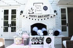 Party Like a Panda Birthday Party Adopt a Panda Station via Pretty My Party