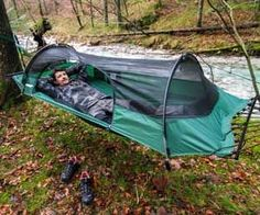 Lightweight Camping Tent Hammock. Very cool website as well. Lots of neat stuff! The ground is lava, stay off the ground! This is the ultimate preppers camping hammock and is just 4 pounds. The #1 rated camping hammock on the market by American Survival Guide as well as Backpacker and Outside Magazines. Stay high and dry is what I always say!