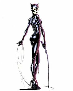 The hottest images and pictures of DC Comics villain and sometimes anti-hero Catwoman, ranked by die hard comic book fans. Catwoman Cosplay, Batman Et Catwoman, Batgirl, Joker, Catwoman Suit, Gotham Batman, Dc Comics, Comics Girls, Marvel Dc