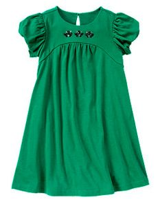 Gem Bubble Sleeve Dress