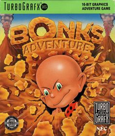Bonks Adventure Turbo Grafx 16 Game | DKOldies