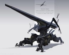 """Bringing out the big guns to take out the biggest threats ! """"Leviathans"""" are one of many nicknames gives to the giant rogue amalgamate biomechs that roam this world. Alien Concept Art, Creature Concept Art, Weapon Concept Art, Creature Design, Arte Sci Fi, Sci Fi Art, Arma Steampunk, Cuadros Star Wars, Robot Animal"""