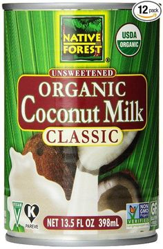 Win it! A case of my favorite coconut milk. Native Forest Organic Coconut Milk #marchmuffinmadness