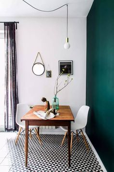 Mood Board: How to Use Emerald Green in Your Dining Room Decor